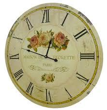 pendule cuisine horloge murale de salon en bois pendule de cuisine maison de
