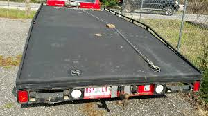 1977 ford f350 carhauler ramp truck hodges wedge flatbed flat bed