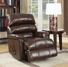 barcalounger rocker recliner top grain leather recliner lift