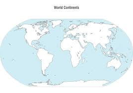 vector map of the world world continents map vector free vector stock
