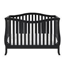 Black Convertible Crib Dorel Emery 2 In 1 Convertible Crib Black