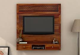 Interior Design For Tv Unit Tv Units Buy Wooden Tv Unit Online Tv Stand Cabinet