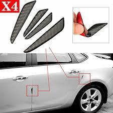 toyota lexus honda acura nissan infiniti champled 4pcs black car side door edge protection guard trim