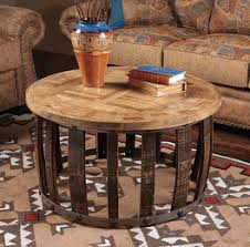 Rustic Round End Table Western U0026 Rustic Tables