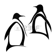penguin couple tattoo on biceps photos pictures and sketches