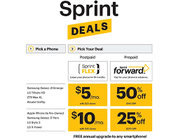 sprint launches new sprint flex and sprint deals smartphone