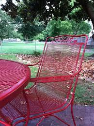 spray paint wrought iron patio furniture home design ideas