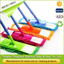 folding window cleaning mop microfiber triangle dust mops for tile