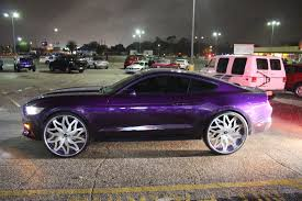 95 mustang rims veltboy314 kandy purple mustang on 26 amani forged wheels