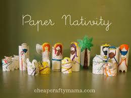 diy nativity projects sugar bee crafts