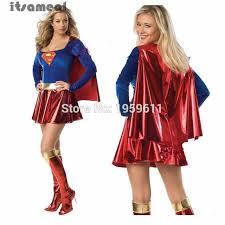 Superman Halloween Costume Aliexpress Buy Superman Costume Halloween Costumes Women