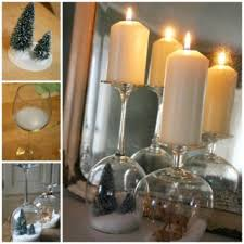 wine glass snow globes wonderful diy fantastic wine glass centerpieces