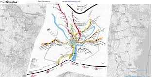 Washington Metro Map by These Maps Show How Subway Maps Twist Urban Reality Metropolis