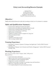 resume objective exles general accountant roles allocation resume resume objectives for entry level positions accounting