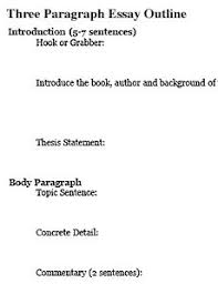 essay outline template ms carroll u0027s reading and writing class