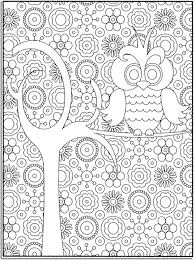coloring page for adults owl owl coloring page 53 cool of an free printable mandala pages for