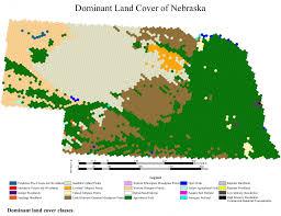 Nebraska On A Map Land Cover Center For Advanced Land Management Information