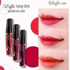 toni moli tony moly delight tint preloved health beauty makeup on carousell