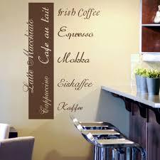 küche wandtattoo wandtattoo sprüche kaffee küche cappuccino kfe02