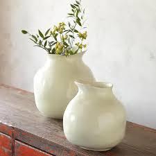 Unique Flower Vases Unique Earthenware Vase Robert Redford U0027s Sundance Catalog