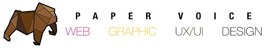 home design logo paper voice web graphic u0026 ux ui design