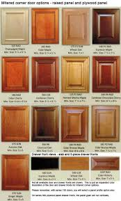 Kitchen Cabinet Door Colors Mitered Corner Custom Wood Cabinet Doors Eclectic Ware