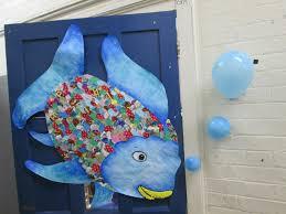 rainbow fish door decoration classroom decor