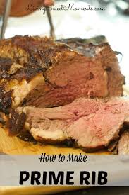 how to make prime rib roast a tutorial living sweet moments