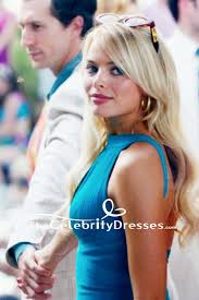wolf of wall wedding dress margot robbie blue mini dress in the wolf of wall