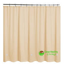 Pvc Free Shower Curtain The 5 Best Heavy Duty Shower Curtains Product Reviews And Ratings