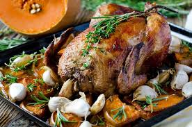 plat d automne cuisine recette de poulet rôti à la confiture de fruits d automne