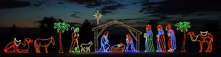 Outdoor Lighted Nativity Set - 17 outdoor lighted nativity sets christmas lights 35 multi