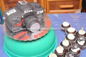 coolest nikon d300 camera birthday cake design