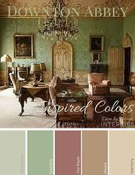 the downton abbey guide to color u2013 the diva u0027s home