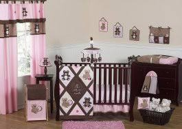 Brown And Pink Crib Bedding Crib Bedding Without Bumpers 6 Sweet Jojo Designs 11