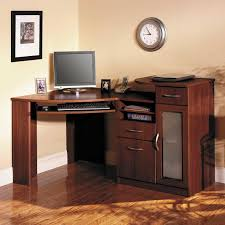 remarkable modern corner desk decorating ideas