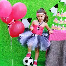 Girls Size 5 Halloween Costumes Soccer Ball Party Tutu Dress Halloween Costume Girls