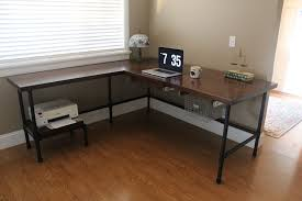 ana white industrial desk diy projects