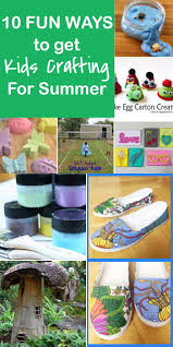 10 fun ways to get kids crafting for summer resin crafts