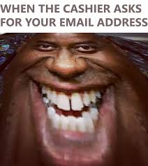 Ainsley Harriott Meme - and i just need your zip code email address phone number would