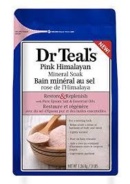 himalayan salt l amazon amazon com dr teal s restore replenish pure epsom salt