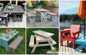 outdoor table ideas furniture archives diy how to