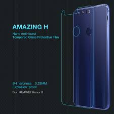 Tempered Glass Windows For Sale Nillkin 9h Tempered Glass Back Cover Protector For Huawei Honor 8