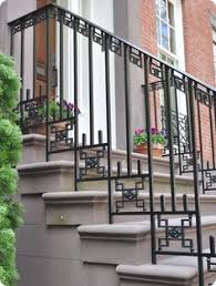 Metal Banisters Mid Century Modern Front Porch Hand Railing 1000 Images About