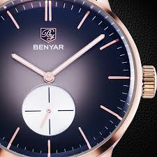 benyar luxury brand design new men u0027s chronograph stop watch