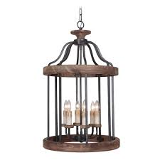 Jeremiah Lighting Chandeliers Craftmade Ashwood Textured Black Whiskey Barrel Pendant Light