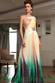 chiffon long elegant beautiful best print prom evening party dress