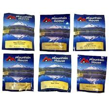 Mountain House Food by Freeze Dried Meal Bundle Outtagear