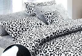 snow leopard duvet cover king leopard print 100 cotton man