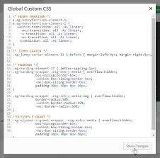 Transition Styles Css - custom css javascript themepunch